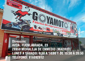 Goyamoto Boutique de Motoristas En Madrid